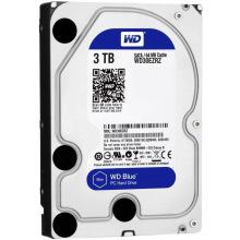 """Жорсткий диск WD 3.5"""" SATA 3.0 3TB 5400 64MB Blue (WD30EZRZ)"""
