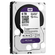 "Жорсткий диск WD 3.5"" SATA 3.0 6TB 5400 64MB Purple Surveillance (WD60PURZ)"