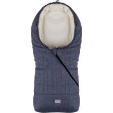 Зимний конверт Nuvita 9235 Ovetto POP меланжевый серый/черный/бежевый (NV9235OVPOPMELANGEBL)