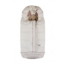 Зимний конверт Nuvita 9605 СUCCIOLI JUNIOR молочний/кролик/бежевый (NV9605CUCCIOLOJRMILK)