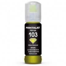 Чернила PRINTALIST 103 Yellow для Epson 70г (PL103Y)