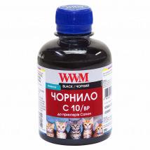 Чернила WWM C10 Black для Canon 200г (C10/BP) пигментные
