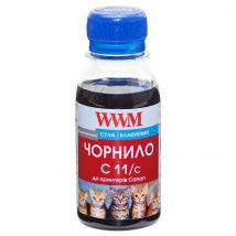 Чернила WWM C11 Cyan для Canon 100г (C11/C-2) водорастворимые