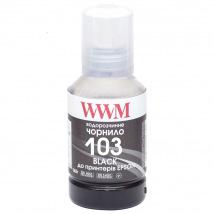 Чернила WWM 103 Black для Epson 140г (E103B) водорастворимые