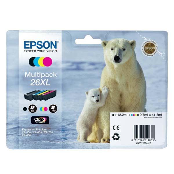 Epson 26XL B/C/M/Y C13T26364010