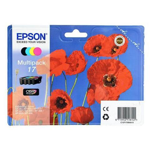 Epson 17 B/C/M/Y C13T17064A10