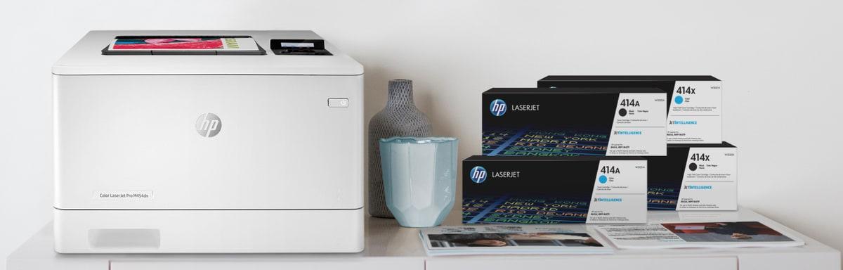 Принтер HP - цветной лазерный