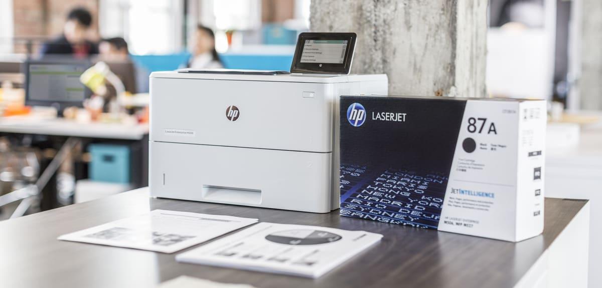 Принтер HP - лазерный