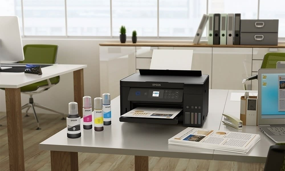 Принтер EPSON с СНПЧ - цветной